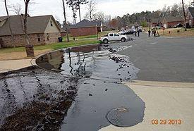 2013 Mayflower Oil Spill Wikipedia