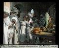 ETH-BIB-El Oued, Bäcker und Verkäufer mit Dattelpalmblüten-Dia 247-03825.tif