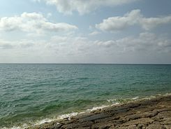 East China Sea from breakwater of Toyosaki Chura-Sun Beach 4.JPG