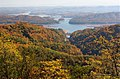 East Tennessee Crossing - The Lakes of the Crossing from Clinch Mountain - NARA - 7718101.jpg
