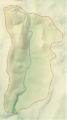 East Webburn River map.png