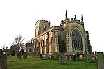 East Witton, The Church of St John The Evangelist. This Church is on the southern boundary of the O/S grid it occupies, slightly to the east of centre.