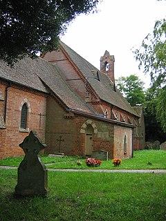 Easterton village in United Kingdom