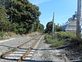 Eastport LIRR Station Site; East to Montauk.jpg