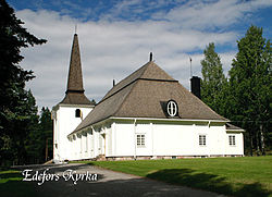 Edefors Church in Harads.