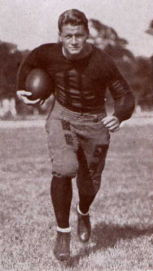 1923 Alabama Crimson Tide football team - Florida's Edgar C. Jones.