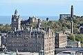 Edinburgh widok na miasto z dziedzińca Zamku.jpg
