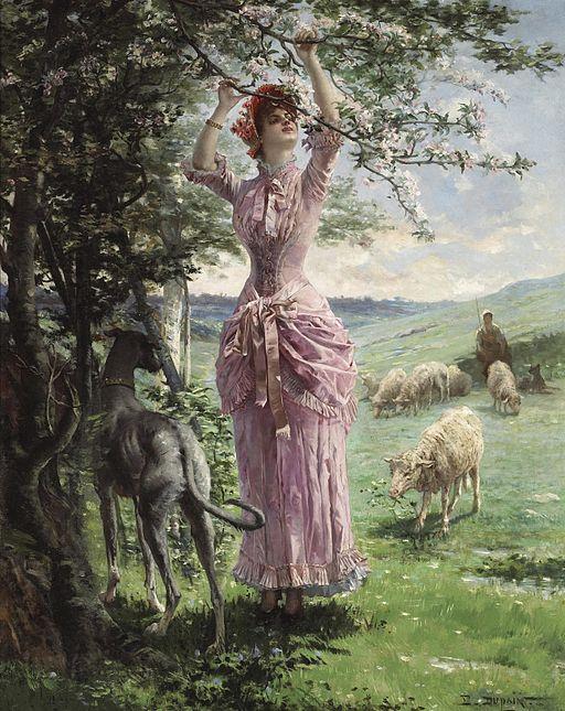 Edmond-Louis Dupain - Springtime