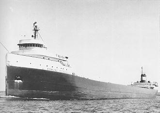 SS Edmund Fitzgerald - SS Edmund Fitzgerald underway