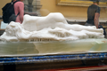 Edward Onslow Ford (1852-1901) - The Snowdrift (1901) back 1, Lady Lever Art Gallery, Port Sunlight, Cheshire, May 2013 (11041201883).png
