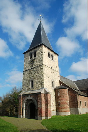 Watermael-Boitsfort - The Church of St Clement, of which the tower dates to the 11th century