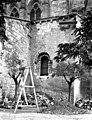 Eglise Saint-Sauveur - Clocher - partie inférieure - Figeac - Médiathèque de l'architecture et du patrimoine - APMH00036788.jpg