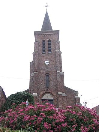 Monchaux-sur-Écaillon - Image: Eglise de monchaux