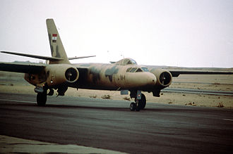 Ilyushin Il-28 - An Il-28U trainer of the Egyptian Air Force in 1981.
