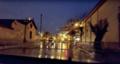 El bayadh centre ville sous la pluie rue du Collège Ibn Badiss.png