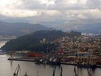 El monte da Guía desde O Castro. Vigo.jpg