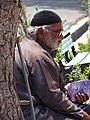 Elderly Man on Street - Outside Aramgah-e Hafez (Tomb of Hafez) - Shiraz - Central Iran (7426569340) (2).jpg