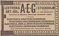 Elektriska AB AEG - annons 1899.jpg