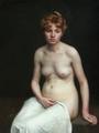Elisabeth Wandel - Ung Kvinde - Young woman 1889.png