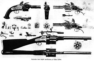 Elisha Collier - Image: Elisha collier flintlock revolver