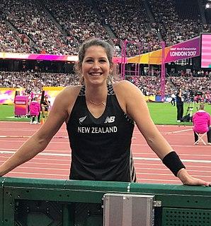 Eliza McCartney New Zealand pole vaulter