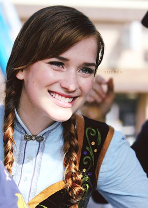 Elizabeth Lail - Lail on the set of Once Upon A Time in 2014