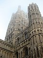 Ely Cathedral - the west tower and facade - geograph.org.uk - 2168263.jpg