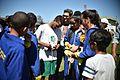 Em clima festivo, seleção da África do Sul treina contra time da Polícia Militar (28633286735).jpg