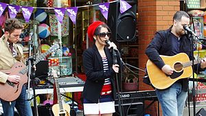 Emma Shah - Ema Shah performing At the St Albans Film Festival of 2014 in UK