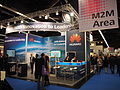 Embedded World 2016, Huawei Booth in M2M-Area.jpg