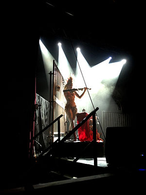 "Emilie Autumn - Autumn performs ""Liar"" in Manchester, England, April 2012"