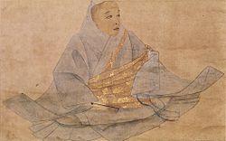 花園天皇像(藤原豪信筆、長福寺蔵)