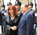Encuentro entre Cristina Fernández y Silvio Berlusconi (cropped).jpg