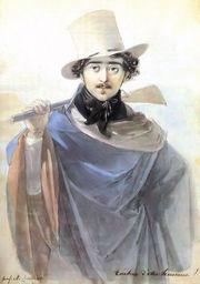 Széchenyi, a keleti utazó (Johann Ender – 1818)