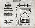Engineering; cross section of the Bramah planing machine. En Wellcome V0024578.jpg