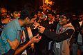 English Wikipedia 14th Anniversary Cake Share - Bengali Wikipedia 10th Anniversary Celebration - Jadavpur University - Kolkata 2015-01-10 3561.JPG