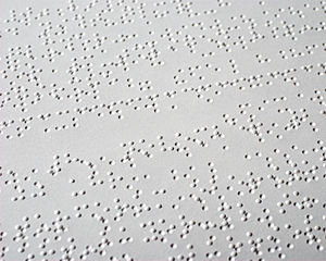 English Braille - Image: English braille sample