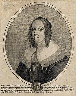 Françoise de Lorraine, Duchess of Vendôme French noblewoman