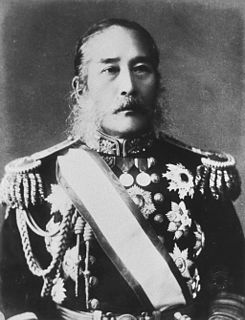 Japanese admiral, cabinet minister