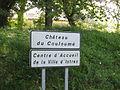Entrée de Château de Couloumé 2.JPG