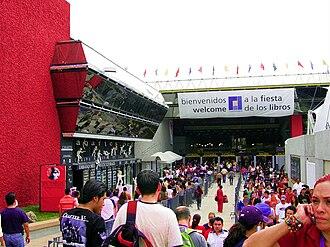 Guadalajara International Book Fair - Image: Entrada principal FIL 2007