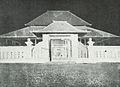 Entrance to Sonobudoyo Museum Yogyakarta, Kota Jogjakarta 200 Tahun, plate before page 113.jpg