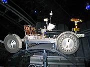 Epcot lunar rover