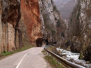 Jerma - The Erma Gorge, near Poganovo Serbia