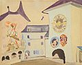Ernst Ludwig Kirchner Der Zytgloggeturm in Bern 1933.jpg