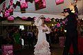 Espectaculo flamento en el Restaurante Grill Fataga por la Feria de Abril 08.jpg