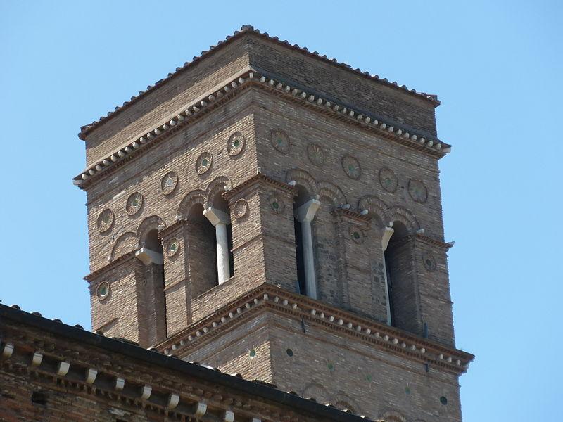 Esquilino - s Croce campanile P1010966.JPG