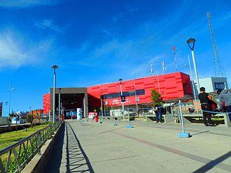 Mi Teleférico - 16 de Julio/Jach'a Qhathu station on the Red Line in El Alto.