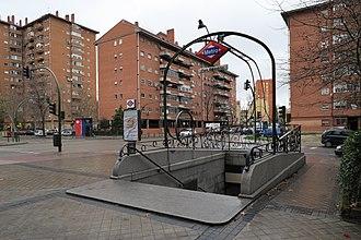 Pan Bendito (Madrid Metro) - Image: Estación de Pan Bendito