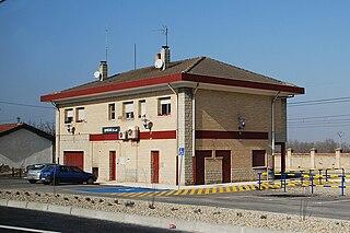 Recajo Village in La Rioja, Spain